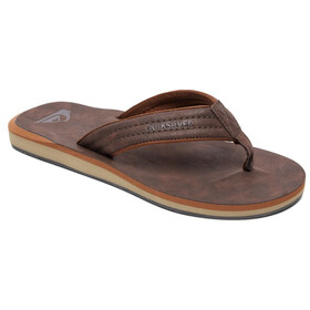 Quiksilver Carver Nubuck Sandals Men solid demitasse